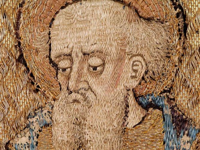 7 - ORPHREY: SAINT PAUL (Detail)