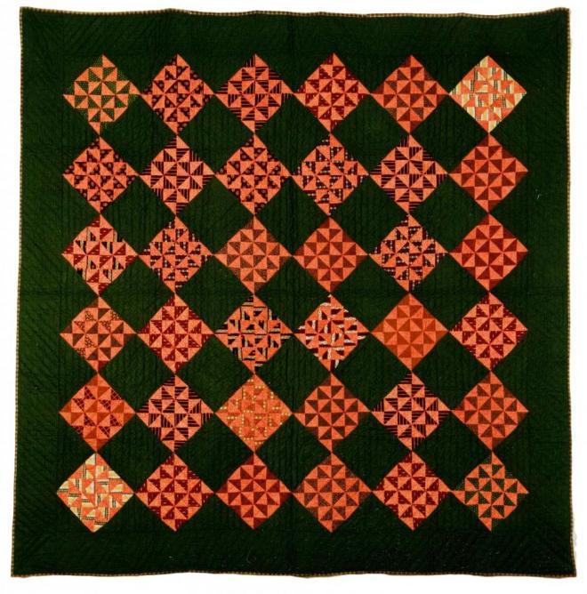 7 Nine Patch variation wih Pinwheels
